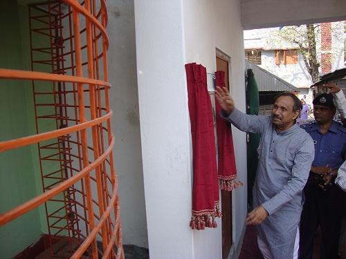 Minister of SICT inaugurating SASEG campus