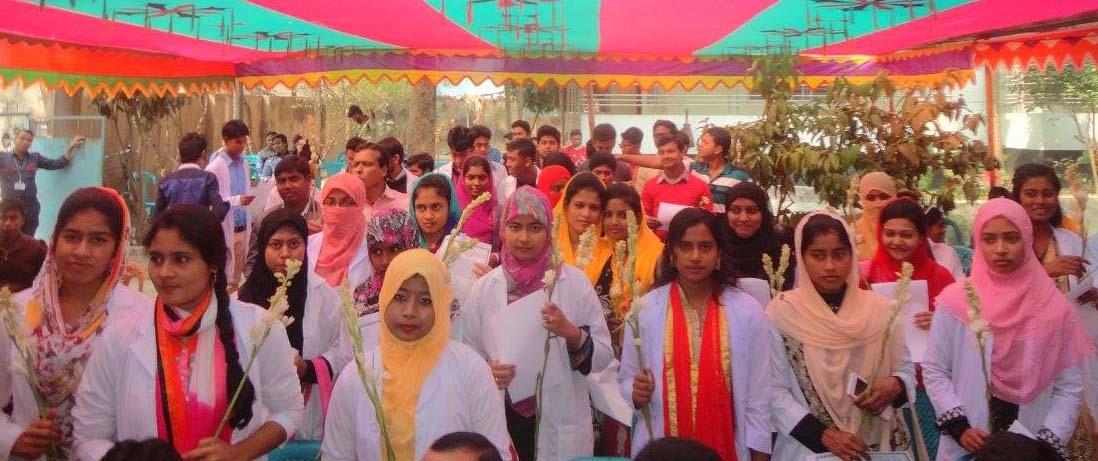 কুষ্টিয়া গুরুকুল এর মেডিকেল বিভাগের শিক্ষার্থীদের নবীন বরন | New students reception of medical section (Kushtia Gurukul)