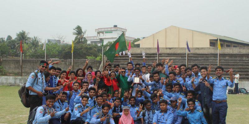 স্বাধীনতা দিবসের মার্চপাস্টে তৃতীয় স্থান অর্জন করেছে গুরুকুল-Gurukul achieved the third place on the Independence Day March Past